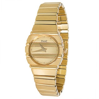 Pre-Owned Piaget Polo Ladies Watch in 18KT Yellow Gold