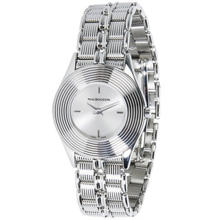 Pre-Owned Mauboussin Round R.62682 Ladies Watch in Stainless Steel