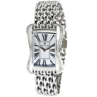 Pre-Owned Maurice Lacroix Divina DV5012 Diamond Ladies Watch in Stainless Steel