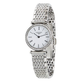 Pre-Owned Longines Le Grande Classique L4.241.0.80.6 Ladies Diamond Watch in Steel