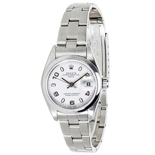 Pre-Owned Rolex Datejust 79160 Ladies Chronometer Watch in Stainless Steel