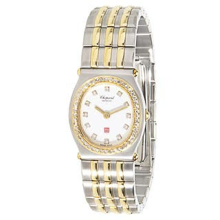 Pre-Owned Chopard Monte Carlo 30/8034-11 Ladies Watch in 18K Gold & Stainless Steel|https://ak1.ostkcdn.com/images/products/14165752/P20765697.jpg?impolicy=medium