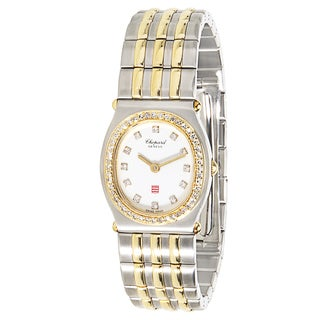 Pre-Owned Chopard Monte Carlo 30/8034-11 Ladies Watch in 18K Gold & Stainless Steel