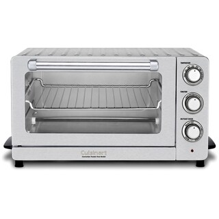 Cuisinart Toaster Oven Broiler with Convection (Refurbished), Stainless