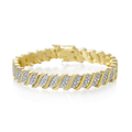 Tennis Gold Diamond Bracelets