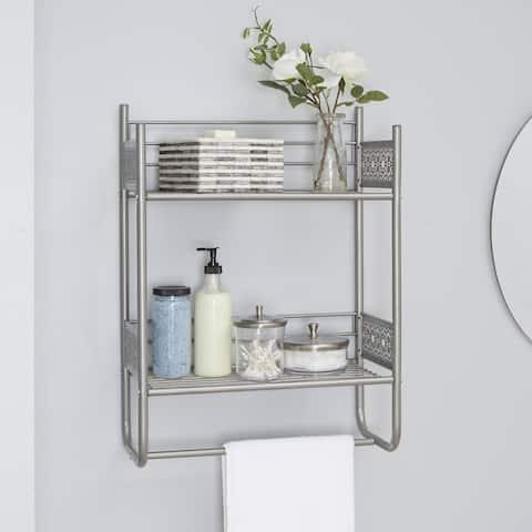 Filigree Bathroom Collection Wall Shelf