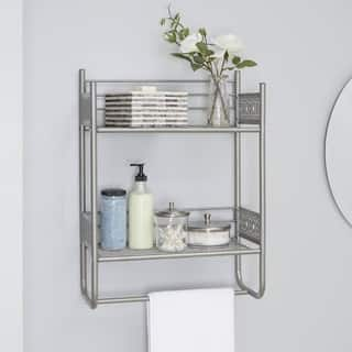Filigree Bathroom Collection Wall Shelf