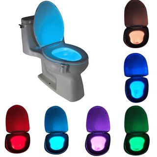 VisiBowl 8-color LED Sensor Motion-activated Toilet Nightlight