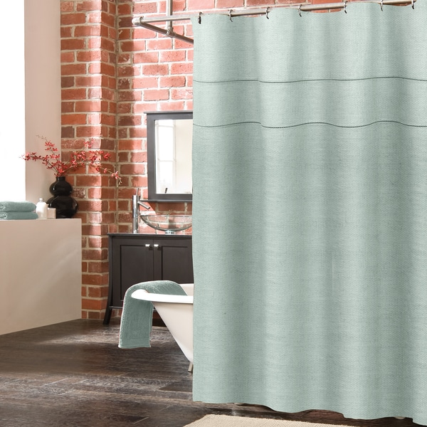 Veratex York Linen Shower Curtain