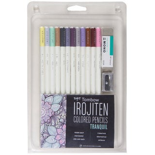 Irojiten Tranquil Adult Coloring Set