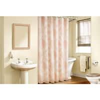Veratex Pineapple Paradise Tropical Shower Curtain