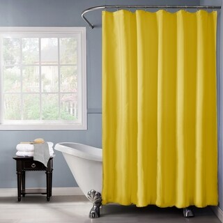 Bath Bliss Heavy Weight Shower Liner in Gold