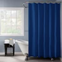 Bath Bliss Navy Heavy-weight Shower Liner