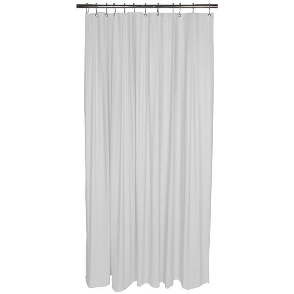 Bath Bliss Shower Liner in White