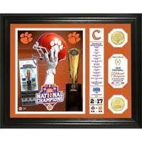 "Clemson 2016 Football National Champions ""Banner"" Bronze Coin Photo Mint"