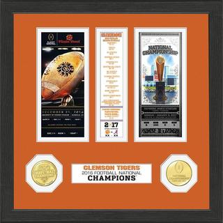 Clemson 2016 Football National Champions Ticket Collection