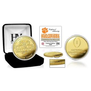 Clemson 2016 Football National Champions Gold Mint Coin