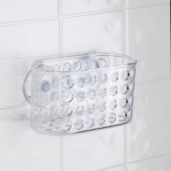 Bath Bliss Compact Suction Bath Basket