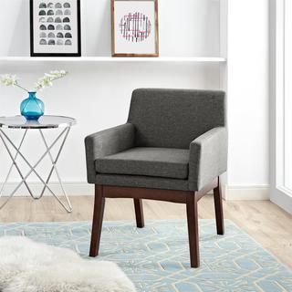 Dorel Living Grey Mid Century Chair