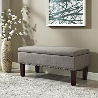 Dorel Living Wheatland Storage Ottoman Bench