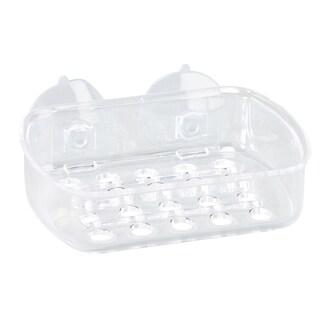 Bath Bliss Clear Plastic Soap Dish