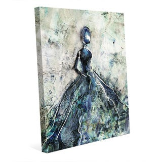 Link to 'Blue Gown' Canvas Wall Art Print Similar Items in Canvas Art