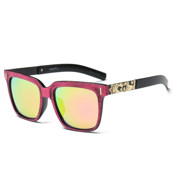 Dasein Unisex Classic Square Lightweight Frame Sunglasses. Opens flyout.