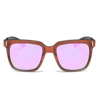 Dasein Unisex Classic Square Lightweight Frame Sunglasses