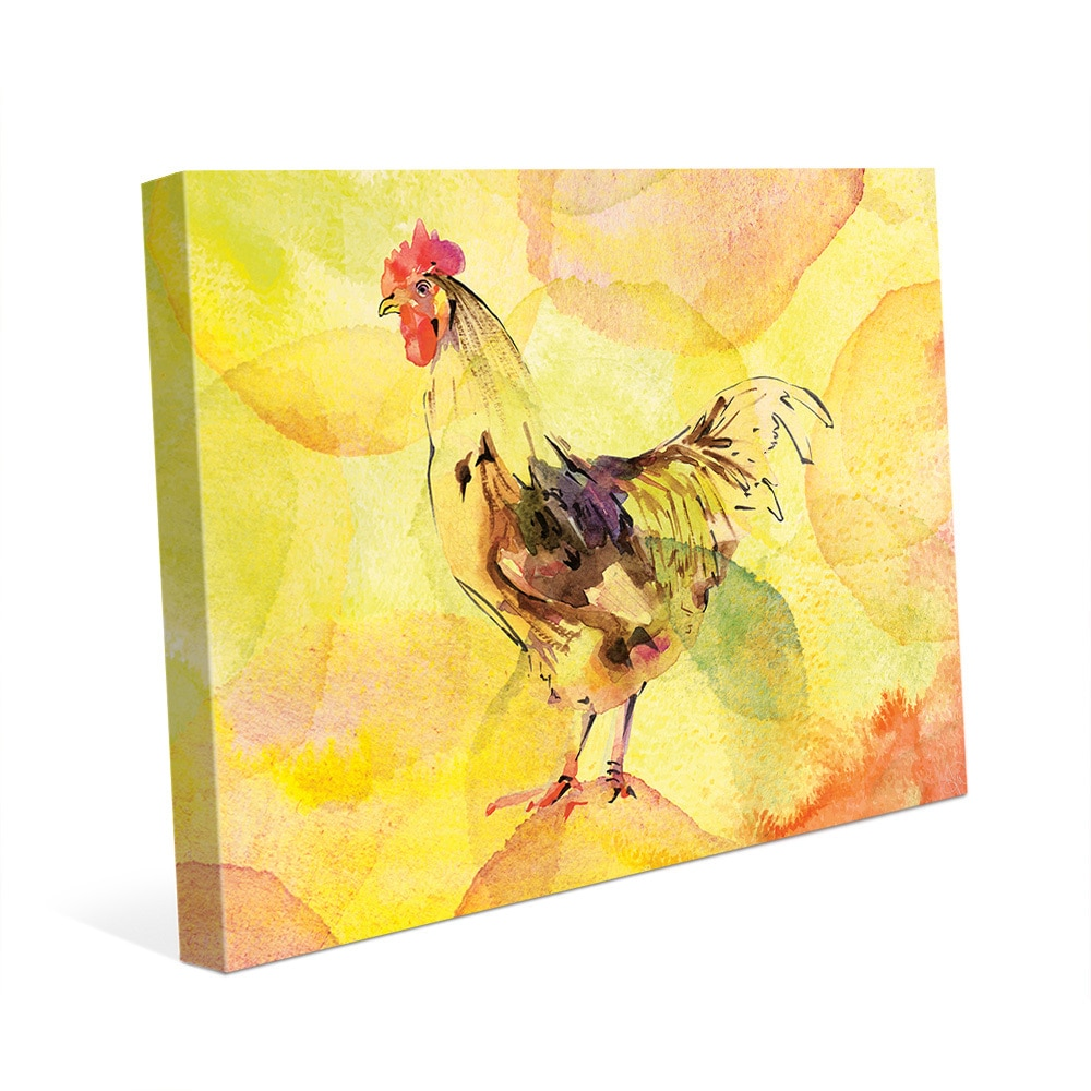 Metal Rooster Wall Decor at Overstock.com