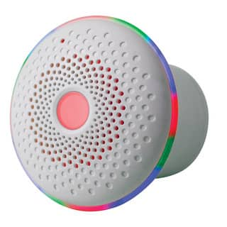 iBasics Float and Flow White Waterproof LED Bluetooth Tub Speaker|https://ak1.ostkcdn.com/images/products/14172832/P20772057.jpg?impolicy=medium