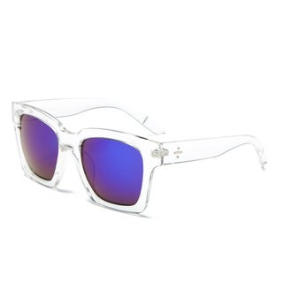 Dasein Unisex Classic Square Lightweight Frame Sunglasses (4 options available)
