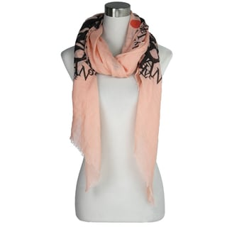 "Le Nom ""Love You"" Letter Scarf"