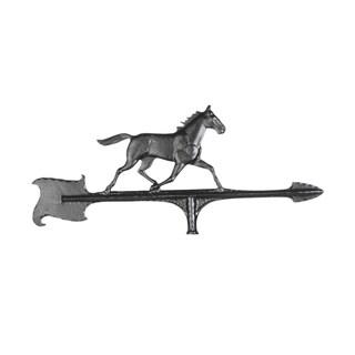 Whitehall HomeBlack Aluminum 30-inch Outdoor Horse Accent Weathervane