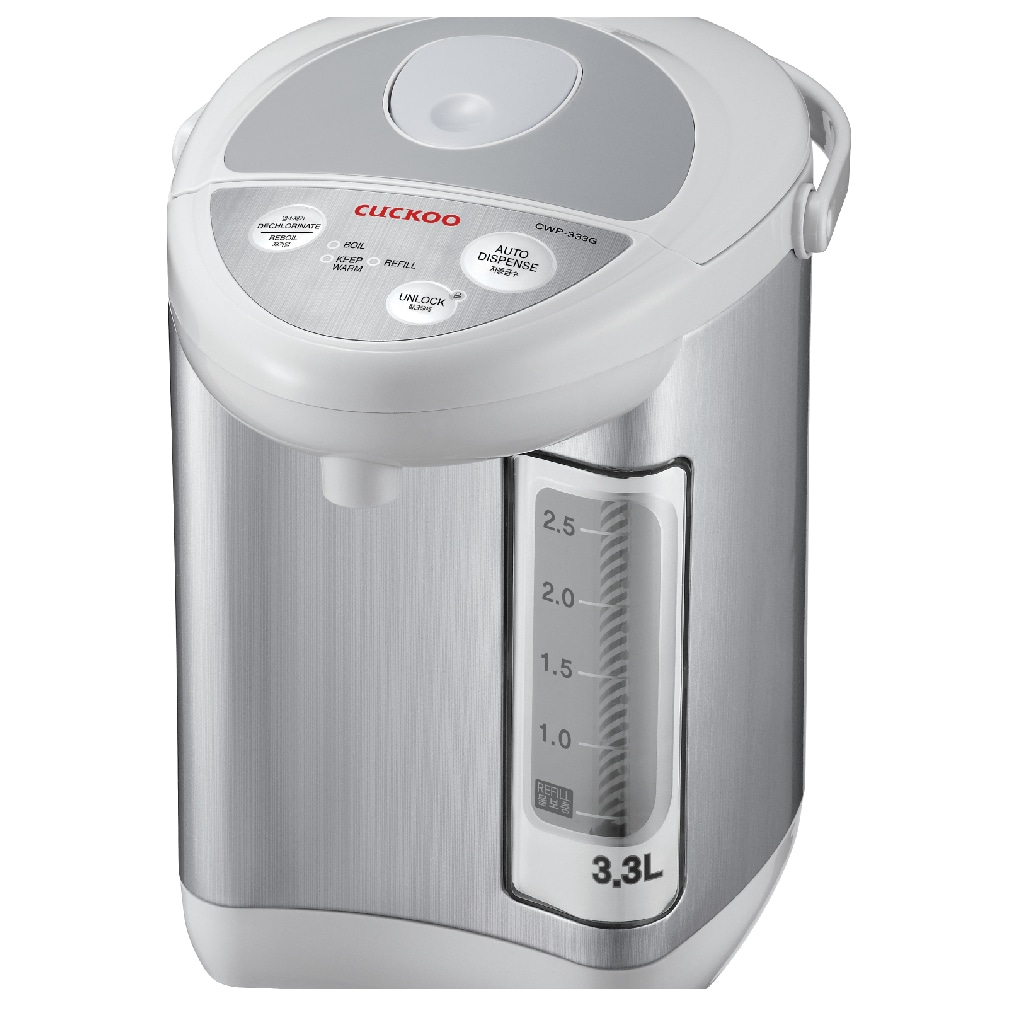 Cuckoo CWP-333G 3.3-liter Electric Thermo Pot (Silver)