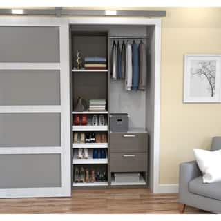 Cielo By Bestar Deluxe 39 Inch Reach In Closet