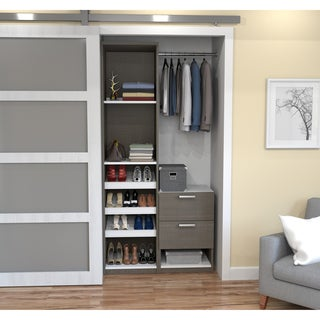 Perfect Cielo By Bestar Deluxe 39 Inch Reach In Closet