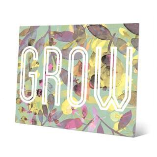 'Cadmium Growth' Aluminum Wall Art Print