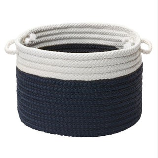 Dip-Dye Marine Navy Storage Basket with Handles (3 options available)