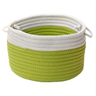 Dip-dye Limelight Storage Basket with Handles