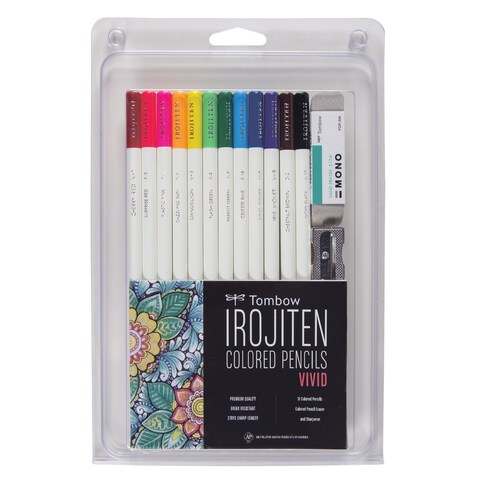 Irojiten Vivid Adult Coloring Set