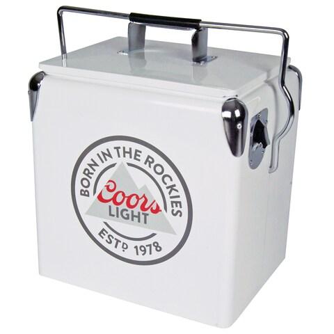Coors Light White 13-liter Ice Chest