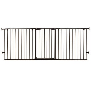 Dreambaby Black 33.5 - 79-inch Newport Adapta Gate