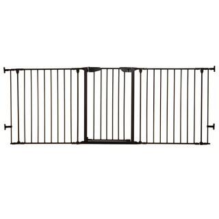 Dreambaby Black 33.5 - 79-inch Newport Adapta Gate