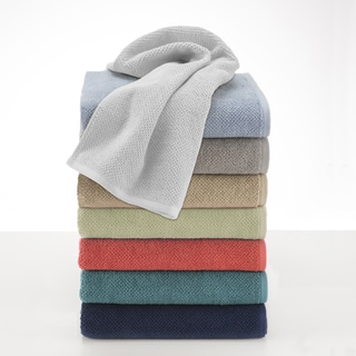 Utica Textured Organic 6 piece Towel Set