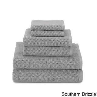 Utica Textured Organic 6 piece Towel Set