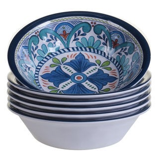 Certified International Talavera Melamine All-purpose Bowls (Set of 6)