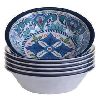 Certified International Talavera Melamine All-purpose Bowls (Set of 6)|https://ak1.ostkcdn.com/images/products/14174132/P20773147.jpg?impolicy=medium