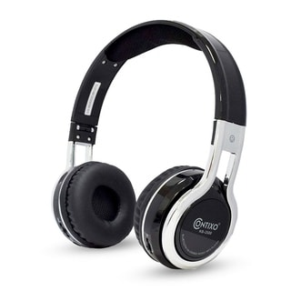 Contixo 2600 Kids Safe 85db Foldable Wireless Bluetooth Headphone Built-in Microphone,
