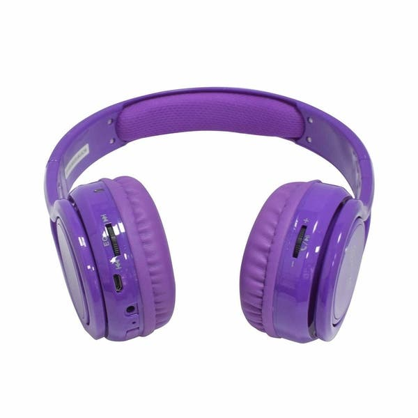 Shop Contixo Kid Safe 85db Foldable Wireless Bluetooth Headphone Built In Microphone Overstock 14174148