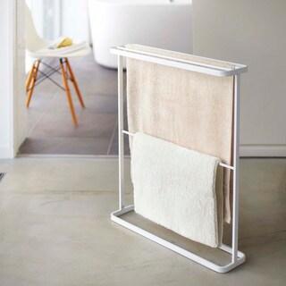 Tower White/ Black Bath Towel Hanger by Yamazaki Home